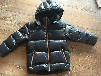 Esprit Childrens Puffer Jacket 100% Down Feather Lined Boys Girls Kids 4-5Yrs