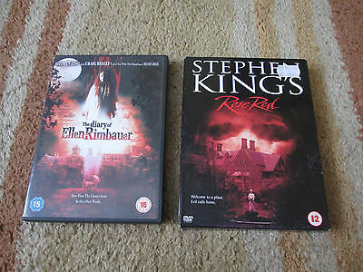 Stephen King's Rose Red (DVD, 2003, 2 disc) & The Diary of Ellen Rimbauer