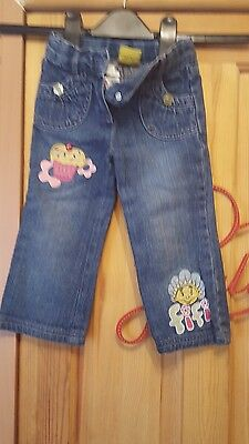 girls fifi and the flower tots jeans size 18/24 months