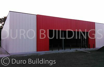 DuroBEAM Steel 100x200x14 Metal Prefab Clear Span Building Structure DiRECT