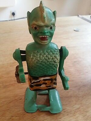 Rare 60's Marx Son Of Garloo Robot Working Condition.