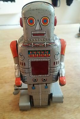 Rare 60's S.y Japan Sparking Robot Working Condition.