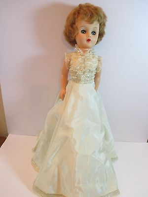 """Vintage Vinyl and Hard Plastic Doll 19"""" Unknown Fixer Upper"""