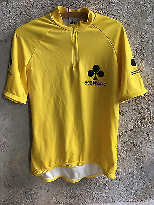 Vintage Colnago Master Jersey Yellow Size L Made In Italy