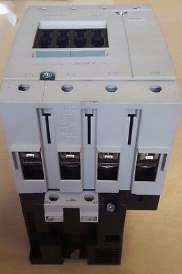 Siemens 3RT1344-1BB40 Contactor 110 A 24 V 4-POLE SIZE S3