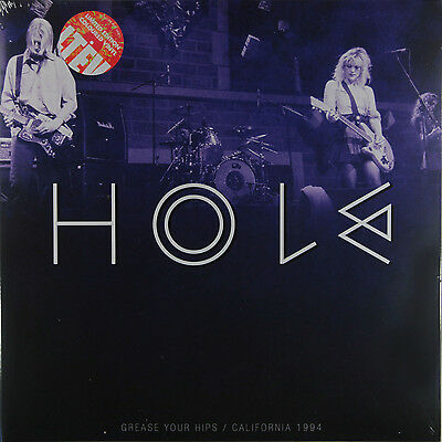 Hole - Grease Your Hips San Francisco 1994 (Ltd 2 x White/Red Splatter) New