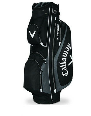 Callaway X-Series Tour Golf Cart Bag Mens 14-Way Trolley Staff NEW