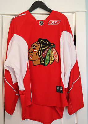Cristobal Huet Chicago Blackhawks Game Used Worn NHL Goalie Practice Jersey