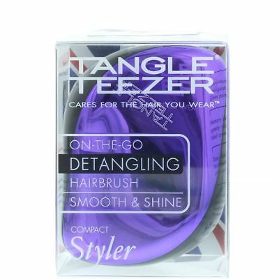 Tangle Teezer Compact Styler Purple Dazzle - Detangling Brush
