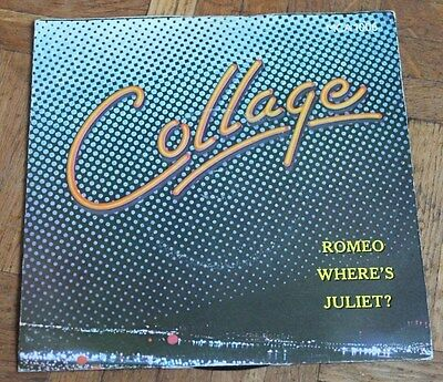 "COLLAGE * ROMEO WHERE'S JULIET * Classic Soul Funk Boogie 7"" Vinyl"