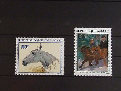 Set of Mali # 1967 (MNH, Mi 158-159, 12 EUR) Art, paintings topic