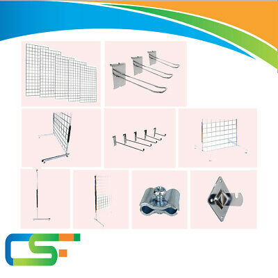 Grid Wall Mesh Panel Grid Wall  Panel Retail Shop Hook Mesh Legs