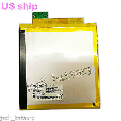 "New Replacement Battery MLP36100107 For Verizon Ellipsis 8 8"" QTAQZ3 Tablet US"