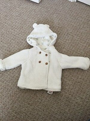 Gorgeous Unisex Baby Cardigan From M&S Age Up To 1 Montj