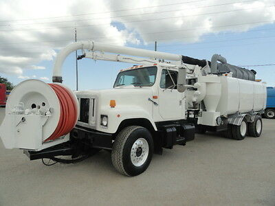 1998 Safe Jet Vac Clean Earth VACTOR VAC-CON VACUUM TRUCK HYDRO EXCAVATOR SEWER