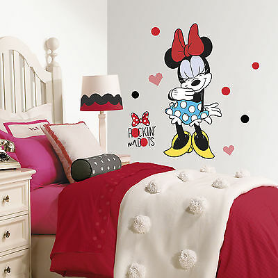 Minnie Rocks the Dots Giant Wall Decals