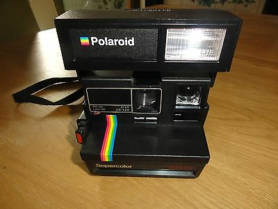 Polaroid 635CL Supercolor instant camera tested working (good condition)