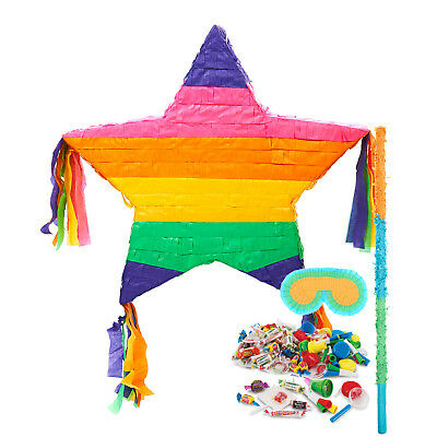 Rainbow Star Pinata Kit