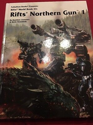 Rifts Northern Gun One, Color Hardcover -- Limited Edition 9 sig.s