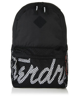 New Mens Superdry Mesh Kayem Montana Rucksack Black