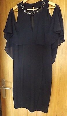 stunning navy Mother of the Bride Dress Size 14.
