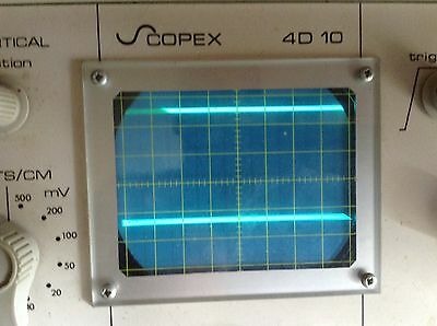 Oscilloscope Scopex 4D10 Powering Up
