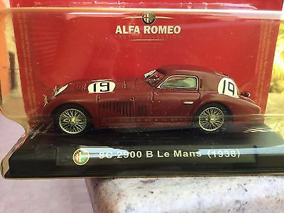 Alfa Romeo Sport Collection Fabbri - 1/43 - 8c 2900 B Le Mans 1938