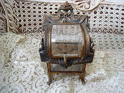 Exquisite Old French Style Jewelry Box Trinket Box Vitrine ***beautiful***
