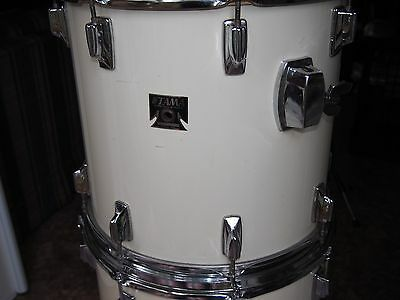 """Vintage TAMA IMPERIALSTAR 13 X 15"""" Rack Tom.  Made in Japan.  Exc. Condition"""