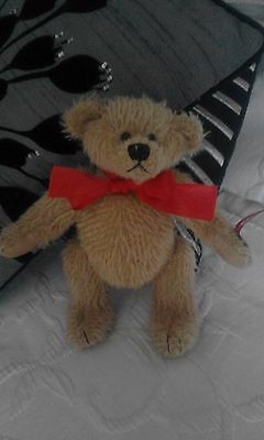 RUSS TEDDY BEAR-MOHAIR-VINTAGE EDITION with MOVEABLE JOINTS
