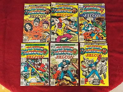 Marvel Captain America and the Falcon Lot (6)
