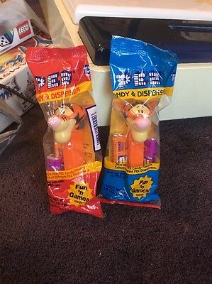 2 PEZ candy dispensers * from Winnie the Pooh * TIGGER * New in Package