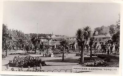 Princess Gardens - Torquay - Devon - Old Postcard 1951