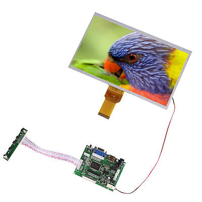 """10"""" Inch Touch Screen LCD Display Module Board Remote For Raspberry Pi"""