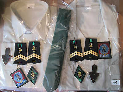 French Foreign Etrangere-2 REP-set shirts folds traditional - size XL/XXL