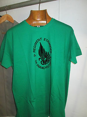 French Foreign ,Legion Etrangere 2 REP-1cie -t shirt size XL