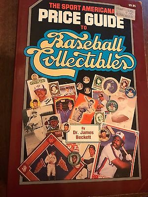 The Sport Americana Price Guide TO Baseball Collectibles by Dr. James Beckett