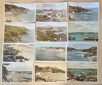 Small Collection (12) Unused Birn Bros RP Colour Postcards Jersey, Channel Isles