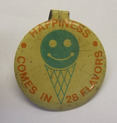 Happiness Comes in 28 Flavors Ice Cream Pin
