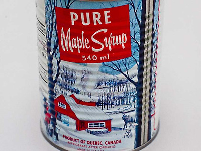 Quebec maple syrup 540 ml can Pure product  2017 batch fresh