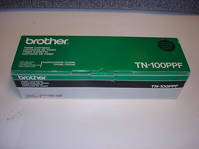 Genuine Brother Tn-100Ppf Toner Cartridge (New)