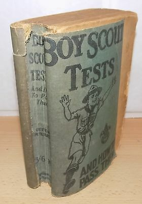Boy Scout Tests And How To Pass Them by Robert E.Young 1941 Edition.