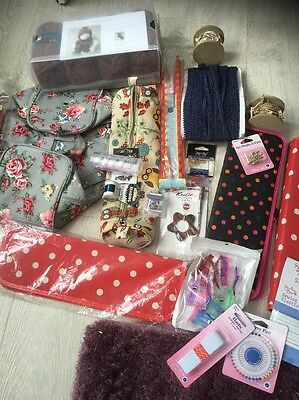Job Lot Of Craft, Knitting, Sewing Items