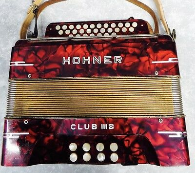 accordeon diatonique Hohner Club III M