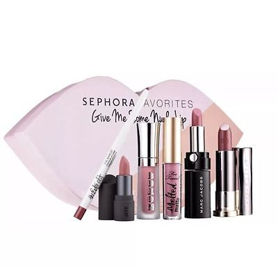 Sephora Give Me Some Nude Lip Set (6 Pieces: Too Faced, Urban Decay)