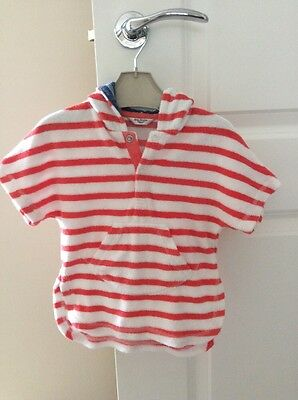 Baby Boden Towelling Hoodie, Size 3-6 Months