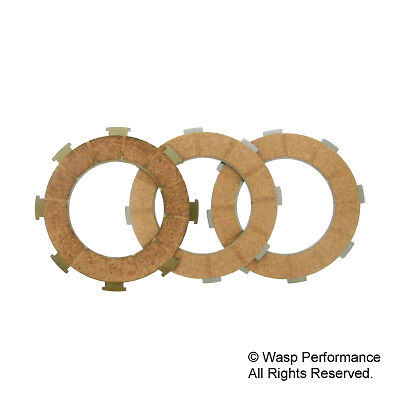 Newfren P200E and T5 Clutch Friction Plate Set - Vespa PX200 until 1994 and T5