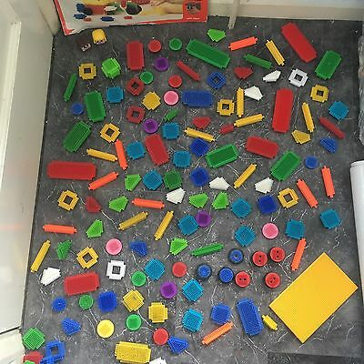 Large Job Lot Sticklebricks - inc Wheels - Heads & Many Many Bricks all in VGC