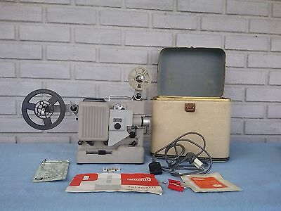8 MM Movie Projector Eumig P8 With Case