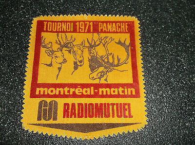 Lot Of 5 Different Vintage Hunting Patches  & 1 Decal / Sticker (In French)